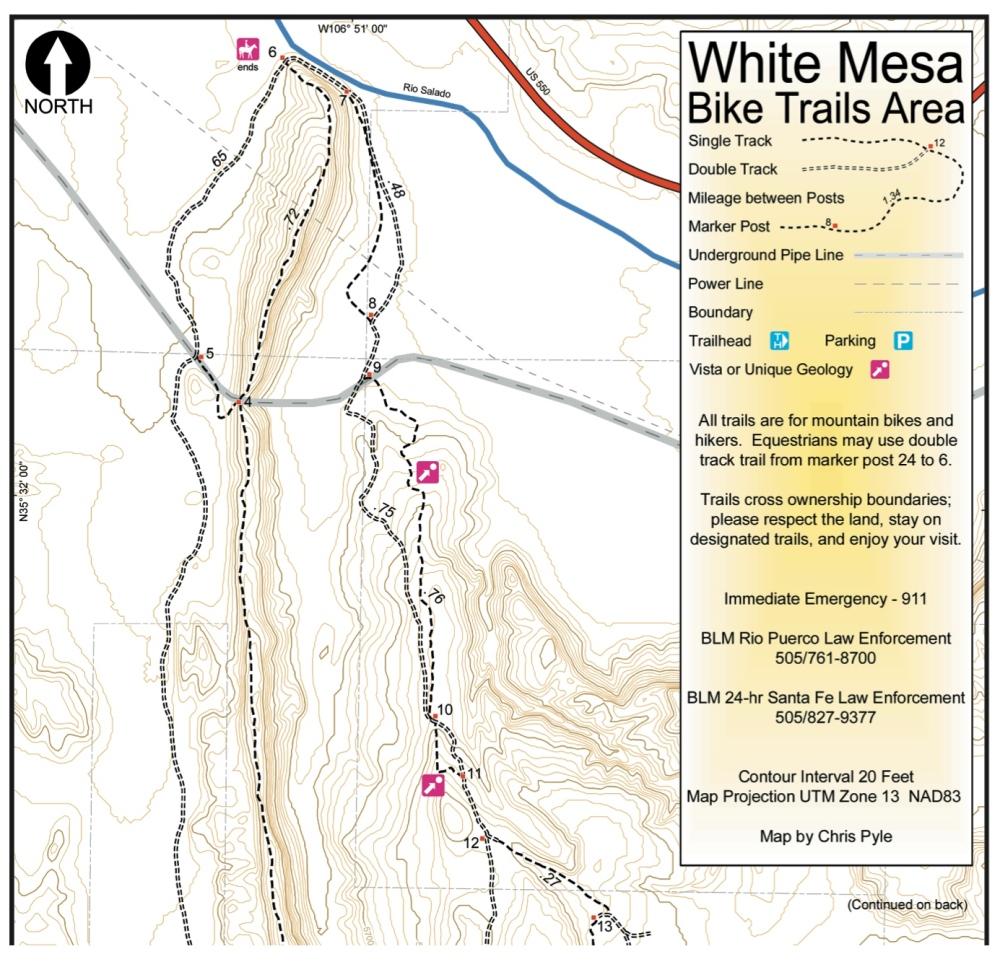 whitemesapocketmap