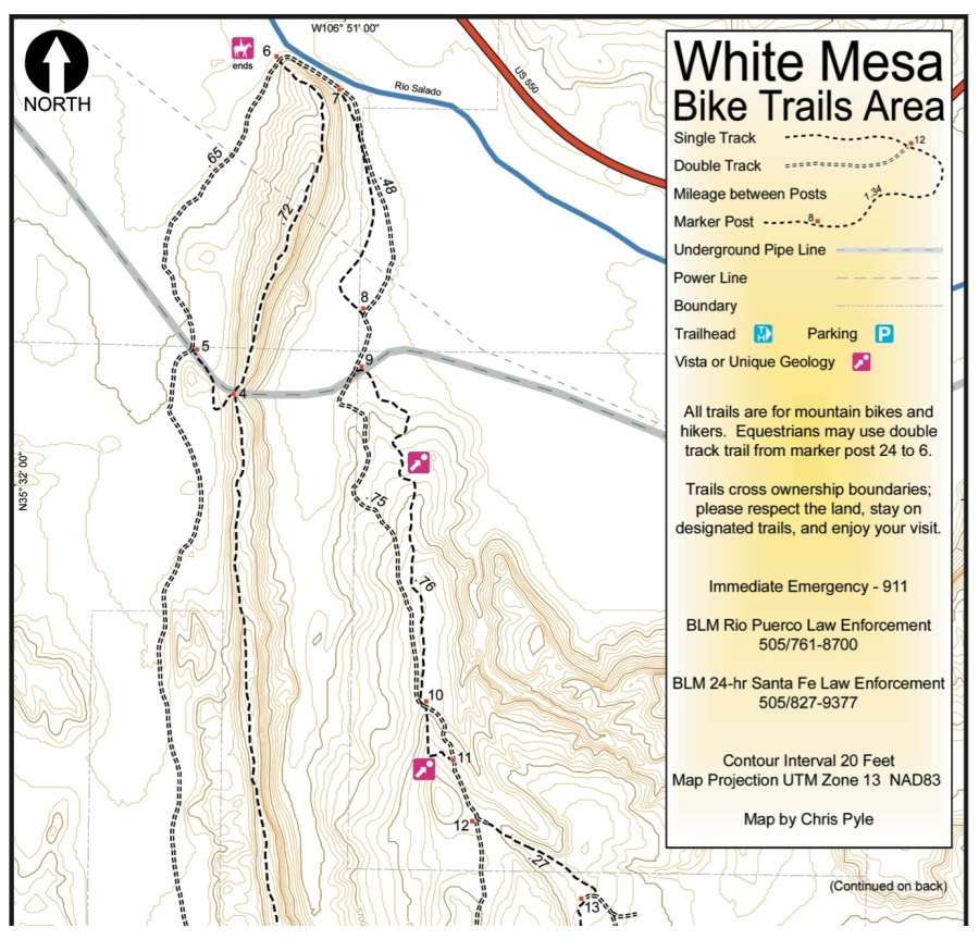 whitemesapocketmap
